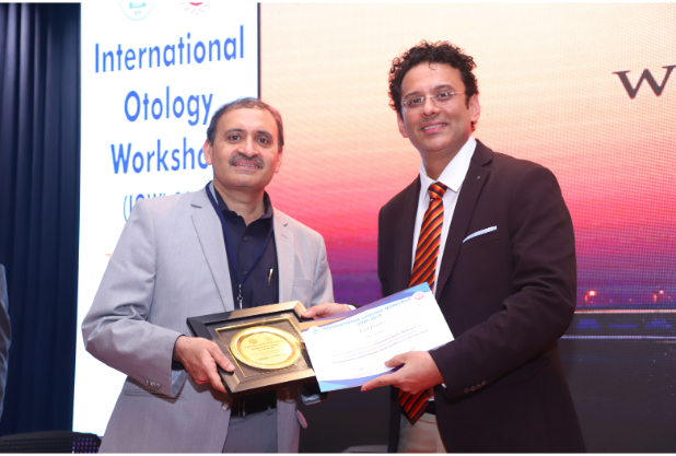 Dr. Meenesh Juvekar Award distribution at IOW